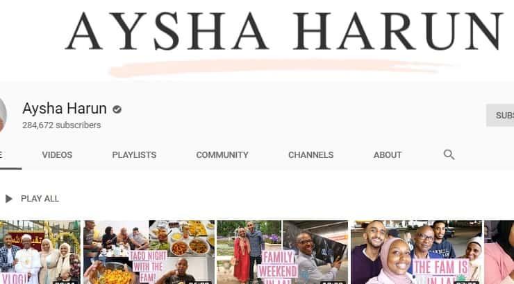 Aysha Harun Black Youtuber
