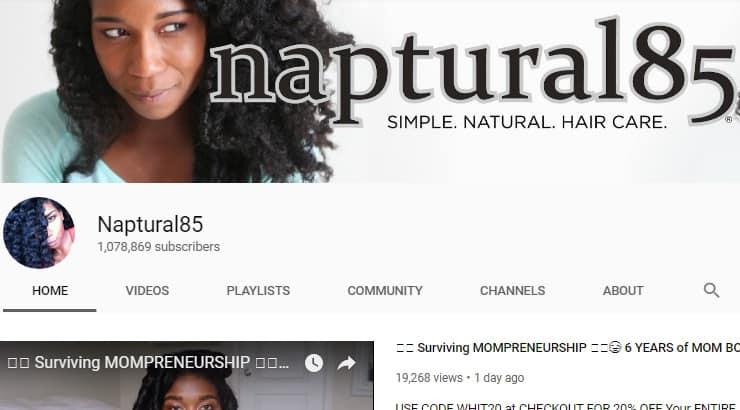 Naptural85 Black Youtuber