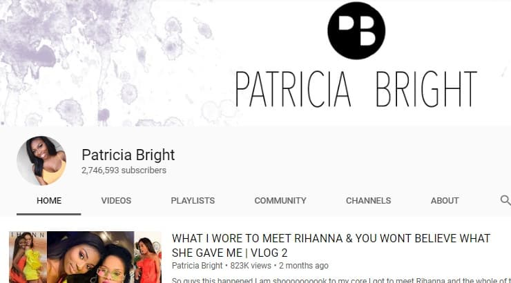 Patricia Bright Is A Black Youtube Star