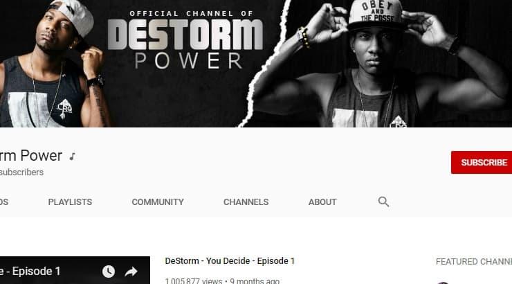 Destorm Power - an African American Youtuber