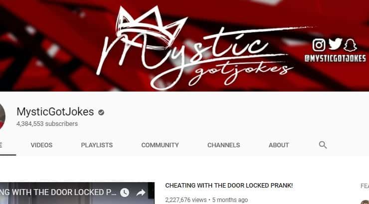 Mystic Got Jokes Black Youtuber