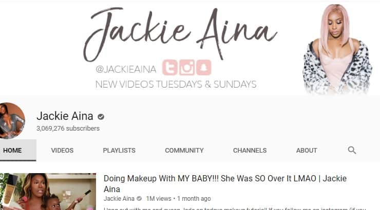 Jackie Aina Black Youtuber