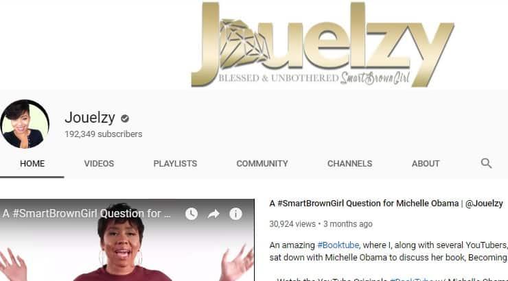 Jouelzy Black Youtuber