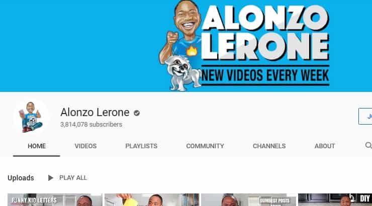 Alonzo Lerone Black Youtuber