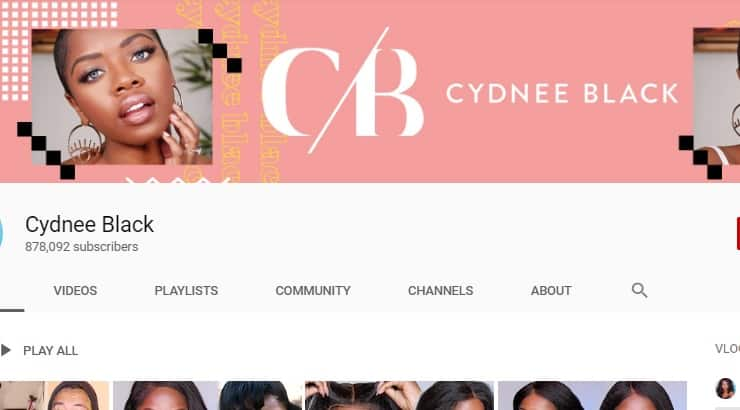 Cydnee Black Black Youtuber
