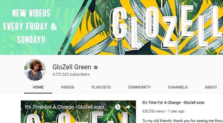 Glozell African American Youtuber