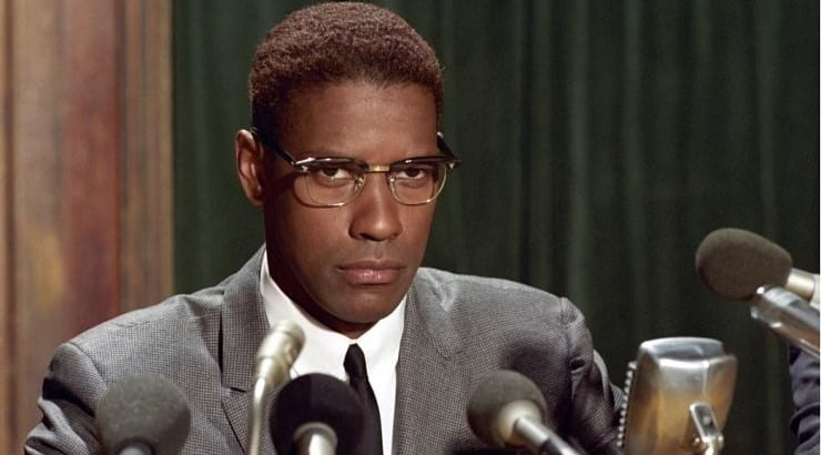 The biopic Malcolm X is a black movie that follows his life from the start to his assassination
