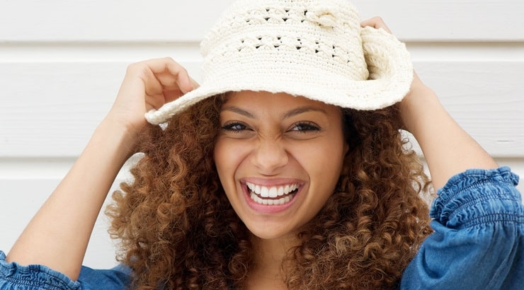There are tons of stylish hats for black women with natural hair.