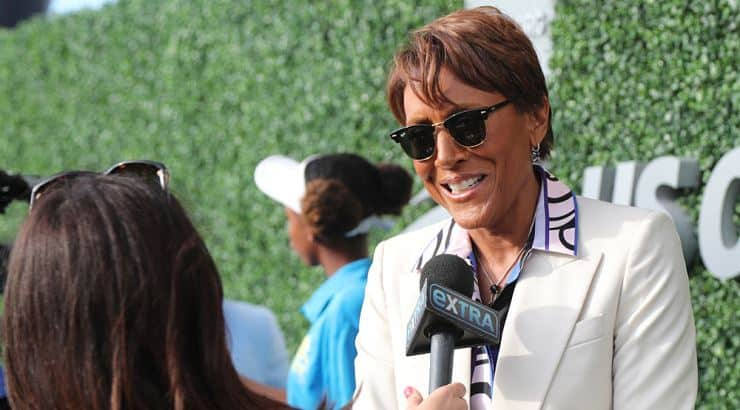 Robin Roberts is an ebony lesbian who has been with her partner for almost 15 years.