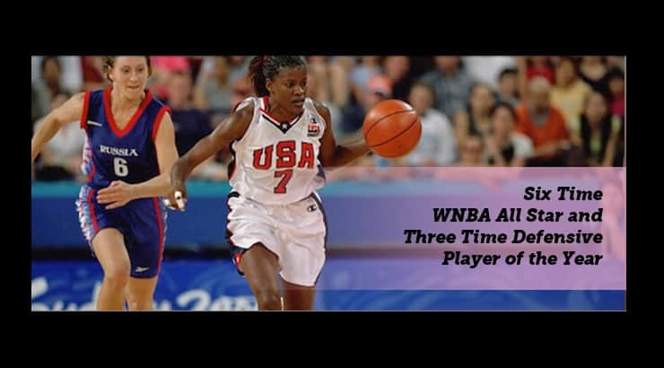 Sheryl Swoopes is a bisexual WNBA player.
