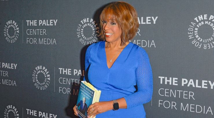 Gayle King has two degrees from the University of Maryland.
