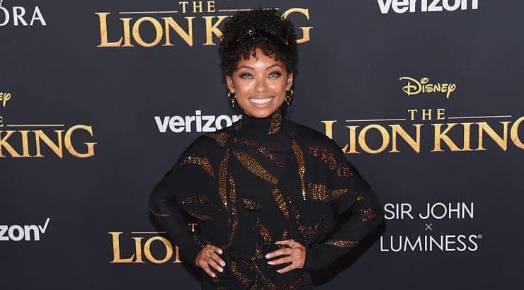Logan Browning is a beautiful black woman who attended Vanderbilt University.