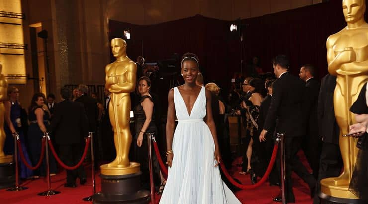 Lupita Nyong'o received a degree from Hampshire College and a master's from Yale.