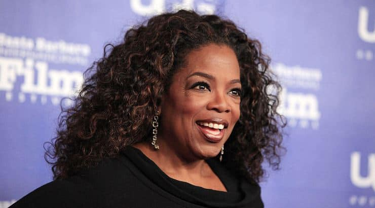 Oprah received a full scholarship to Tennessee State University.