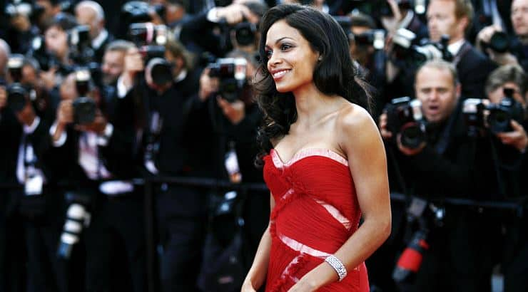 Rosario Dawson took college courses while still in high school.