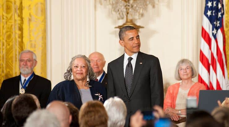 Toni Morrison is a writer who attended Howard University and Cornell.