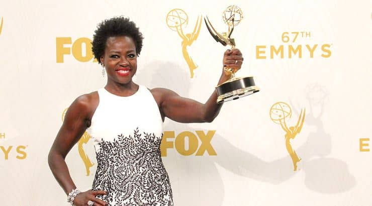 Viola Davis has a degree from from Rhode Island College.
