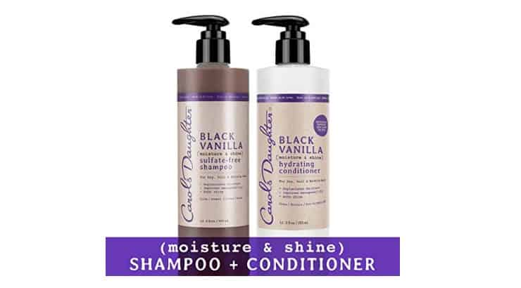Carol's Daughter is black-owned hair care company that makes a sulfate-free shampoo for black women.