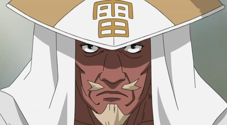 A is a black male character from Naturo with white hair and a tanned appearance.
