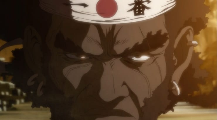 Afro Samurai is the black lead protagonist on the anime show named after him.
