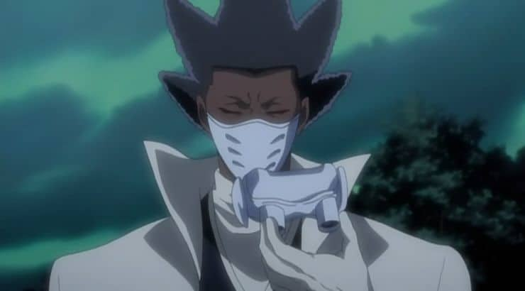 """Kaname Tosen is a blind, black male character on the animated series """"Bleach."""""""