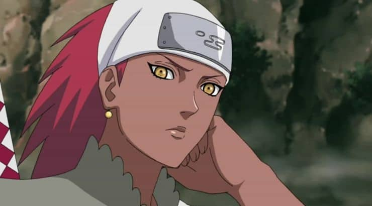"""Karui is a black female character from the anime show """"Naruto."""""""
