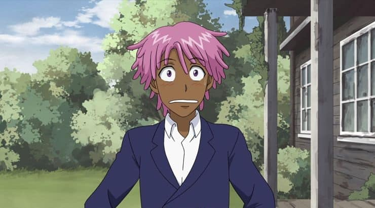 Kaz Khan is a black anime character voiced by Jaden Smith in the Netflix original,