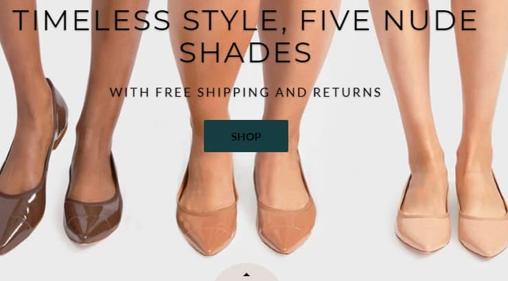 Rebecca Allen is a black owned brand that creates nude shoes for women of different complexions.