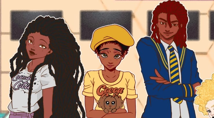 Adorned by Chi is a great black-owned brand that caters to black women who like cartoons and anime.