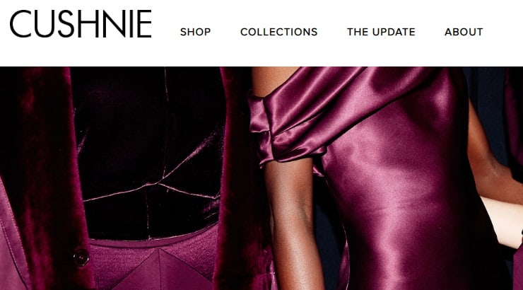 Cushnie is a luxury black-owned brand seen on celebrities like Michelle Obama and Beyonce.