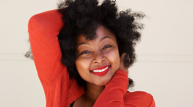 Detangling is a very important beauty process for natural hair.