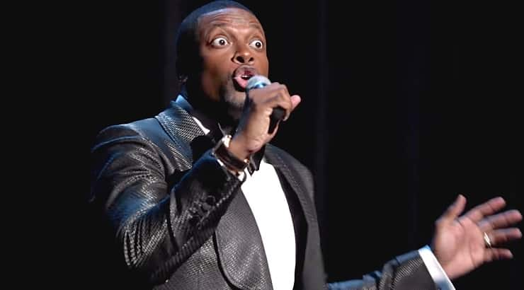 Chris Tucker has appeared in numerous comedies from Friday to Rush Hour before receiving his own stand-up special.