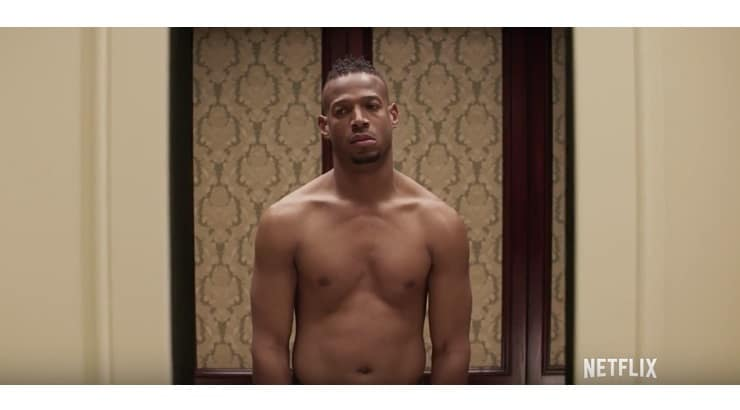 Naked is a Marlon Wayans comedy about a man who continues to wake up naked in an elevator on his wedding day.