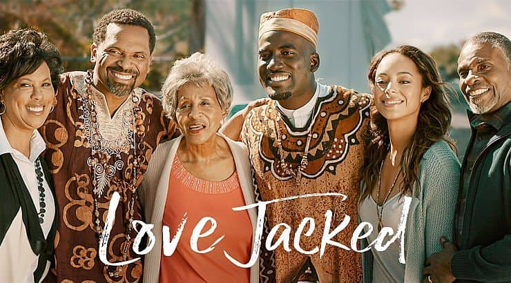 Love Jacked is a Canadian film about girl who hires a man to pretend to be her fiance.