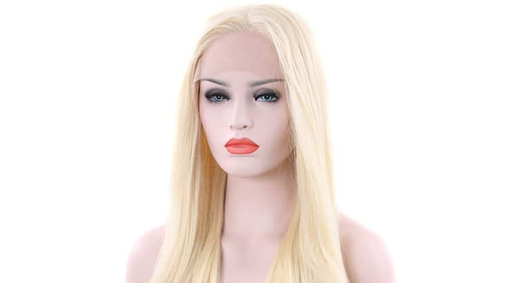 Tripal Hairs Blonde Wigs Handmade