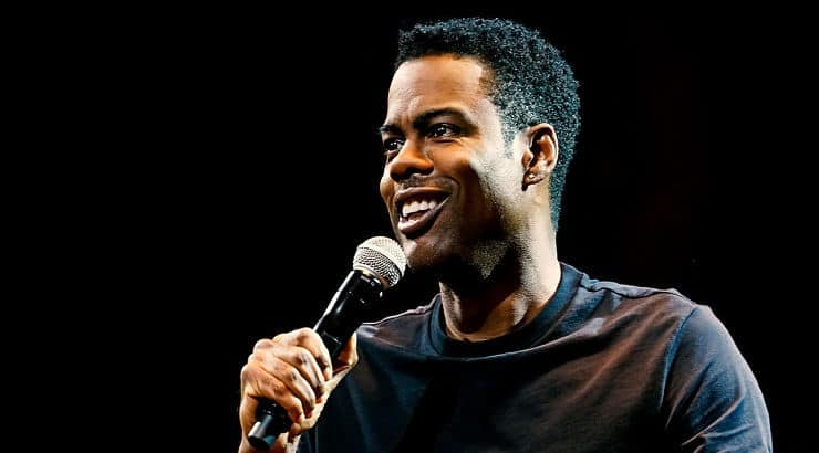 "Chris Rock appears in his own Netflix stand up special called ""Tamborine"" which was released in 2018."