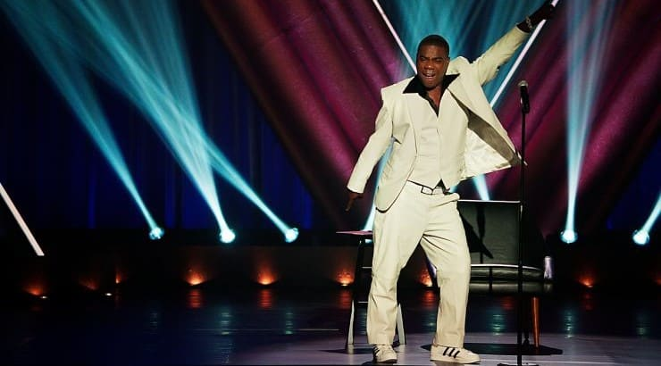 Staying Alive is Tracy Morgan's comic take on his life after his life-threatening car crash.