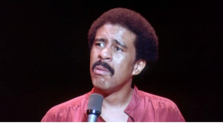 Richard Pryor is a black comedian who is seen as the greatest of all time.