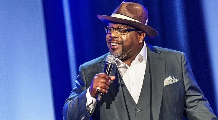 "Cedric the Entertainer is a black comedian who has appeared in his own Netflix stand up special ""Live from the Ville."""
