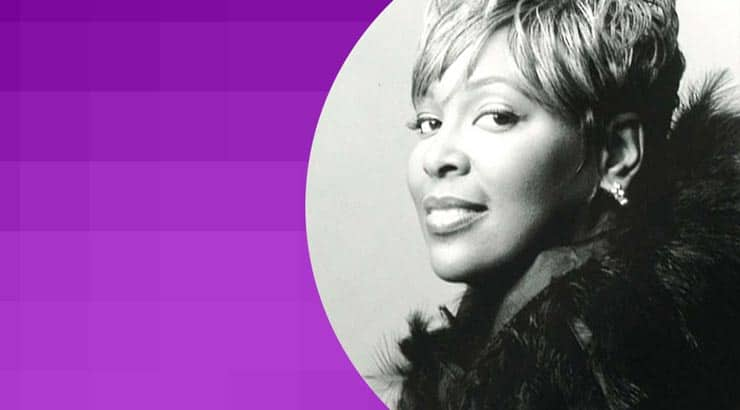 Tramaine Hawkins is a black female Gospel singer