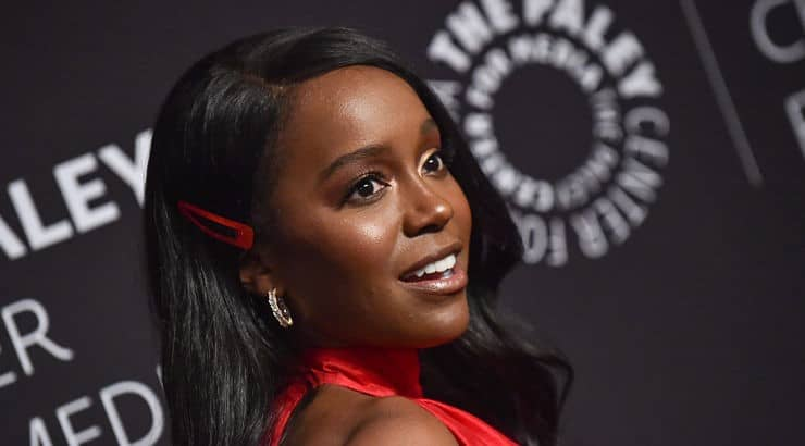 A graduate of both the University of California, Santa Barbara and Yale University, Aja Naomi King has since appeared in films like Four and The Birth of a Nation.