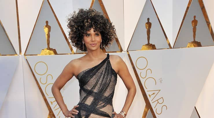 Halle Berry's career includes films like Jungle Fever, Boomerang, B*A*P*S, and the X-Men film series.