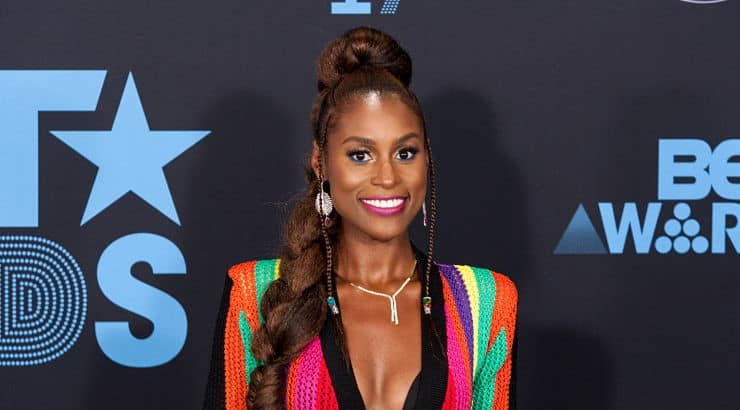 "Issa Rae's rise to fame came after her dramedy series ""Insecure"" which airs on HBO."