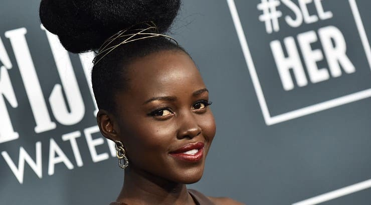 Lupita Nyong'o is a Mexican-born African actress who has appeared in numerous films such as 12 Years a Slave and Black Panther.