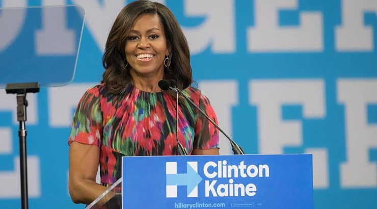 With Ivy League schools littered on her resume, Michelle Obama received her BA from Princeton University before earning a law degree of Harvard University.