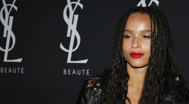 Zoe Kravitz launched her acting career with No Reservations.