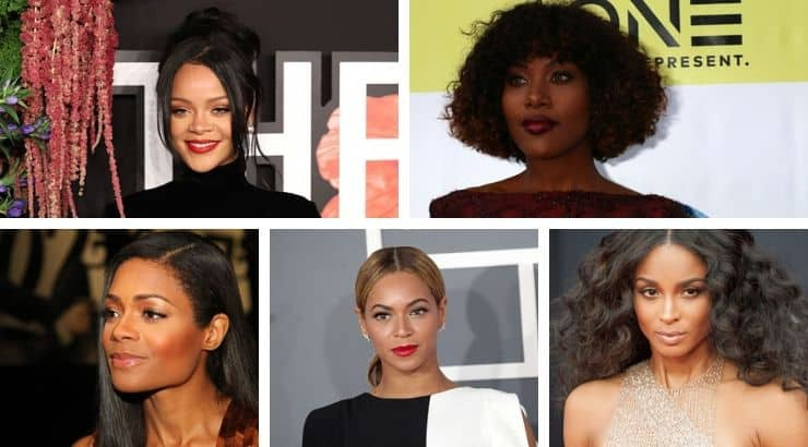 The beautiful black female celebrities in Hollywood are some of the best singers, actresses, models, and more.