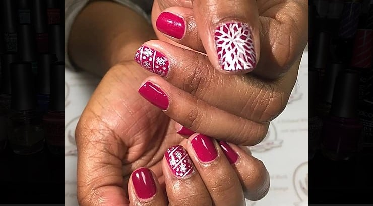 A Polished Work is a Chicago-based nail salon with options for paraffin dip pedicures.