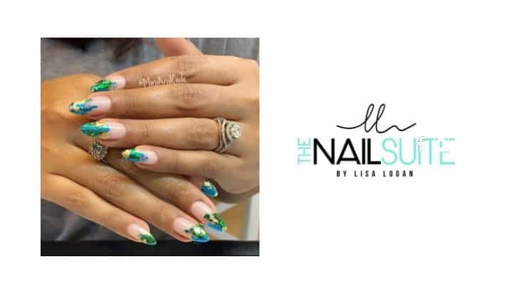 The Nail Suite by Lisa Logan has a strong client following on Instagram where they post many of their nail pictures.