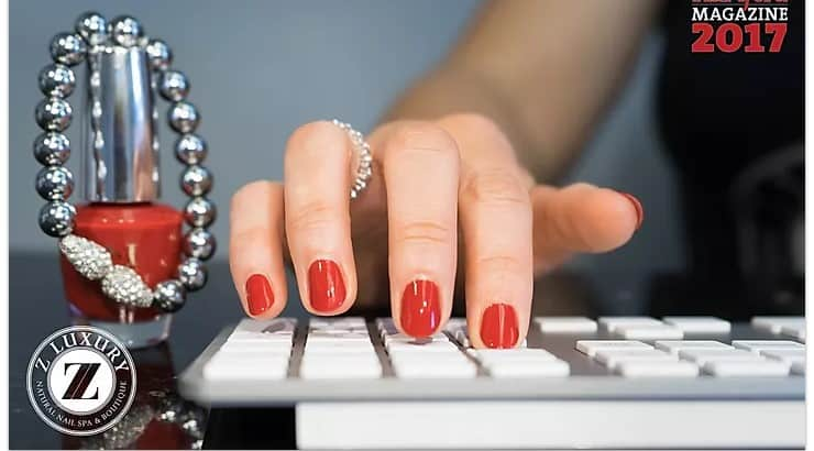 Z Luxury Nails offers vegan polish options as well as manicures and pedicures infused with CBD oil.